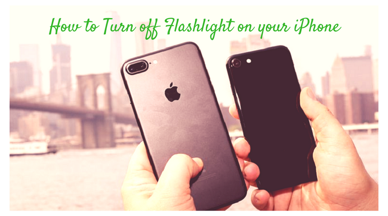 how to turn off flashlight on iphone how to turn flashlight on your iphone 20389