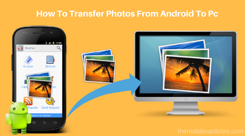 How To Transfer Photos From Android To Pc