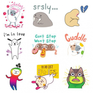Geostickers: