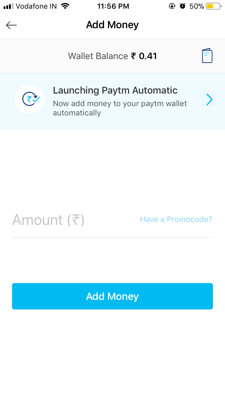 how to avail paytm add money offer